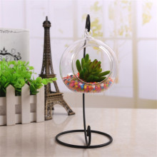 Hanging Glass Tealight Holder Globe  Package Improved Plant Terrariums Glass Orbs  Air Plants Tea Light Candle Holders