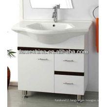 2014 white glossy cheap kitchen cabinets