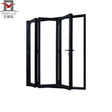 Precio barato diseños modernos de aluminio puerta corredera, puerta corredera de vidrio, puerta plegable