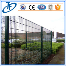 High Quality Square Post Galvanized / Pvc coated Welded Wire