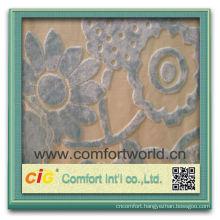 Fashion New Design Pretty Elegant Rayon Polyester Embroidery Fabric For Sofa