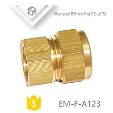 EM-F-A123 Hose straight coupling brass quick cooper pipe connector