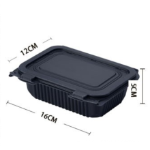 Bento Lunch Box Leakproof with Lid  Biodegradable  Food Box /Disposable Corn Starch Food Container