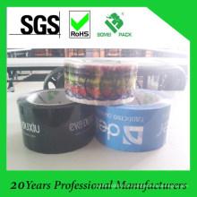 Dois, colorido, geral impresso, usado, bopp, fita embalagem