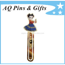 Chinese Style Cloisonne Bookmark in Gold Plating (bookmark-004)