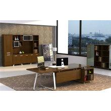 Mode Style Design moderne Walnut Veneered Manager Desk (HF-WD022)