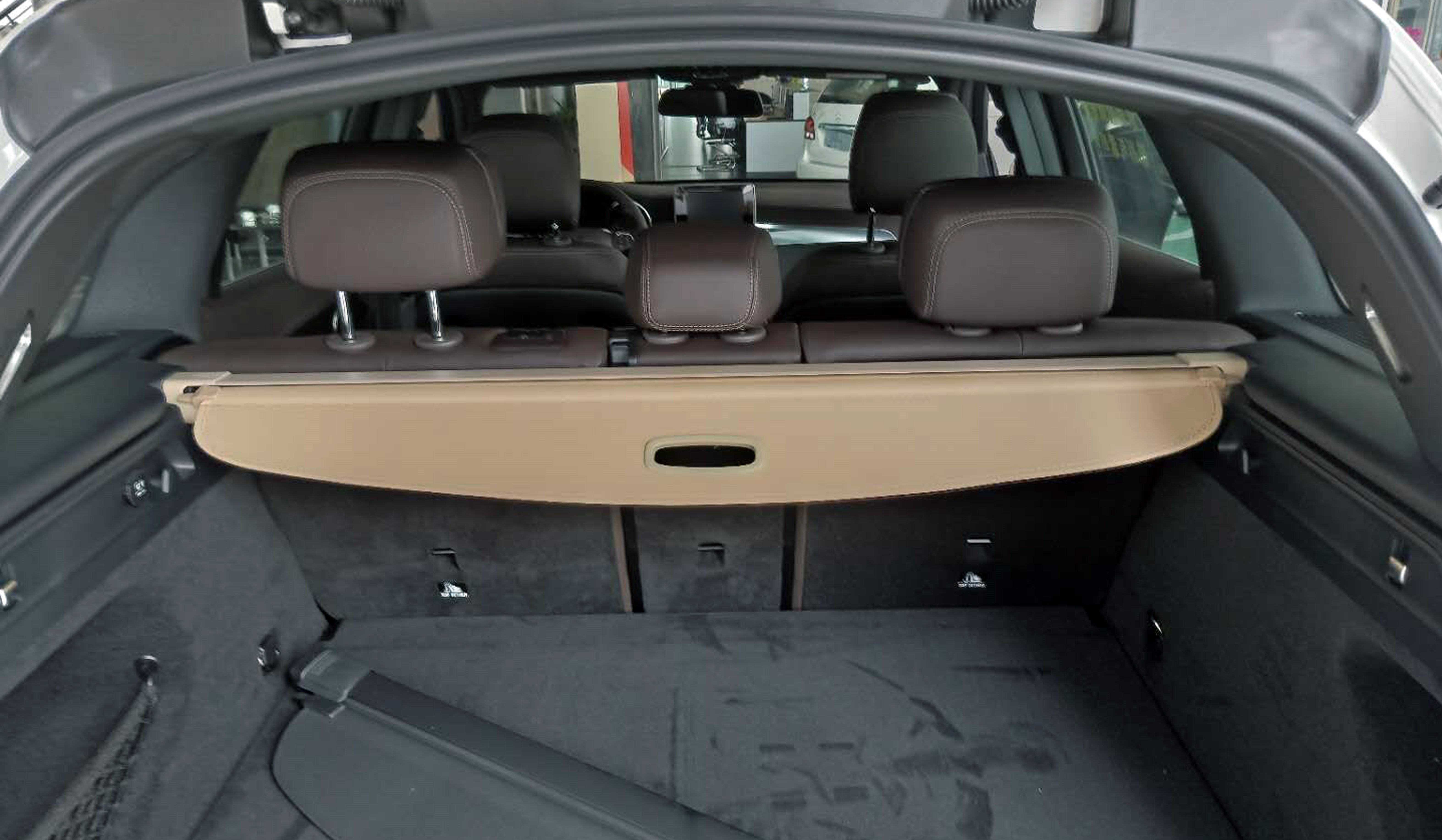 Black Trunk Shielding Shade Cargo Cover