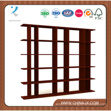 Soporte de exhibición ancho modificado para requisitos particulares de la tienda de la góndola de madera de 6 '
