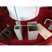 Perfil de aluminio de mejor precio para muro cortina