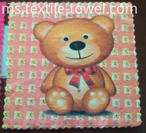 Cartoon Printing Small Towel
