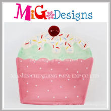 New Design Hand Made Ceramic Cake Shaped Plate and Dish