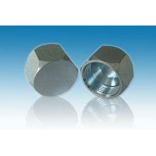 Carbon Steel Hydraulic Jic Steel Cap Nuts
