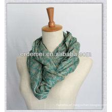 Viscose printed neckerchief/luxury scarf