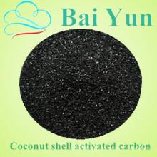 Filtro de aire activado del carbono de la cáscara del coco granular del valor de 1050 yodo