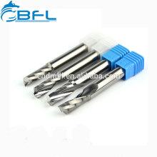 BFL- Fresas de aluminio de una sola flauta de carburo sólido para Dibond