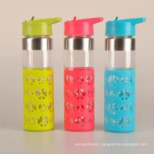 hot sale fashion glass water glass bottle