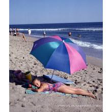 Sombrilla de playa anti solar al aire libre del sol A17