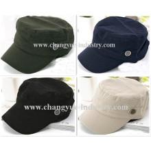 sombrero de gorra militar de algodón blanco promoción Venta por mayor