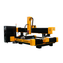 Auto Tool Changer CNC Router Machine for 3D Marble Granite Stone Sculpture Making Price