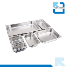Multi-Size Stainless Steel Gastronorm Container Gn Pan