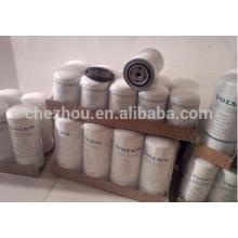 Filtro de óleo de escavadeira fabricante chinês 21707132, filtro de escavadeira