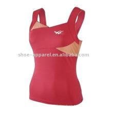 2014 New design cheap tennis tank top women,gym top