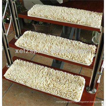 soft touching decorative microfiber stair carpet runner