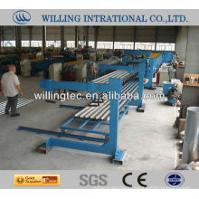 trapezoidal roll forming machine for floor deck