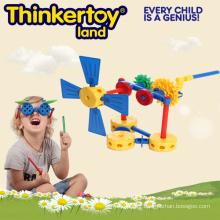 Opération avancée de la machine par Gear Construction Toy for Boy