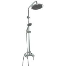Misturador de chuveiro redondo do banheiro do bronze maciço redondo (1015)