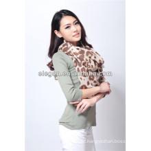 Women High Quality Fashion Leopard Printing All March Long Scarf