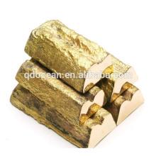 Venda quente de alta qualidade 99,99% lingote de cobre com preço razoável e entrega rápida !!