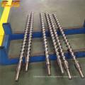 tornillo de extrusora de goma para máquina de extrusión de pvc alambre