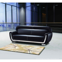 Schwarz Büro Sofa PU-Leder-Sofa-Set (DX523)