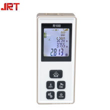 Medidor de distancia de láser digital OEM 100m con medidor de ángulo
