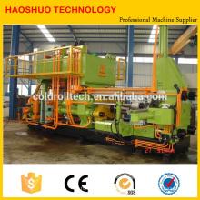 Máquina de extrusión de cobre continuo