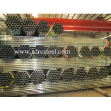 ERW Ss400 горячеоцинкованная стальная труба
