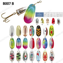 Colorful Metal Fishing Lure Spinner