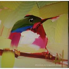 Pintura a mano de pájaros
