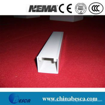 Canalización de cables de PVC blanco / gris (UL, IEC, SGS y CE)