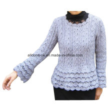 Handmade Crochet Summer Long Sleeve Women Top Dresses Hippy Blouse