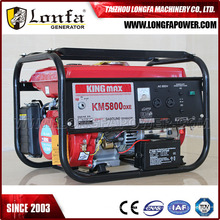 Generador de Kingmax del comienzo eléctrico Km5800dxe para el uso en el hogar