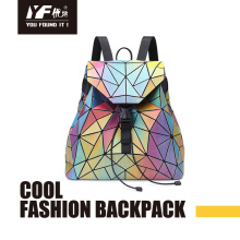Custom laser color focus personality PU backpack