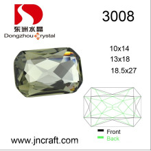 Popular Color 10*14mm Size Crystal Fancy Stone for Garment Accessories