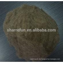 Kompettive Preis von Pure Chinese Sheep Wolle Faser, Med Schatten Schafe Wolle Fabrik Preis