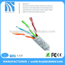 CAT5 CAT5E 1000 футов GRAY BULK UTP LAN NETWORK ETHERNET CABLE
