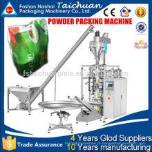 2015 Trade Assurance CE aprovam o preço automático da máquina de embalagem de leite em pó com dosagem de parafuso e alimentador de parafuso para farinha de trigo