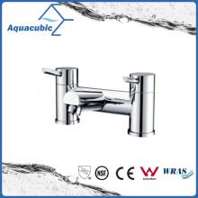 Two Holes Zinc Chromed Dual Handle Bathtub Faucet (AF6001-2A)