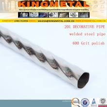 ASTM трубопровод a270 304/высокое 316L полированной нержавеющей стали декоративные трубы