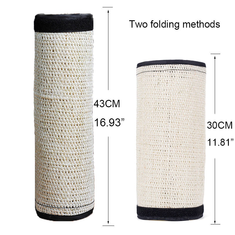Natural Sisal Hemp Cat Scratching Post Protecting Furniture Grinding Claws Cat Scratcher Toy Multifunctional Furniture Protector 1
